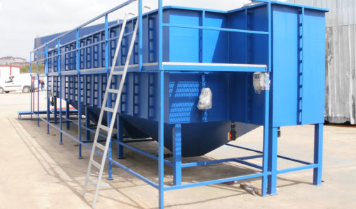 CHEMICAL PACKAGE WASTEWATER TREATMENT UNIT