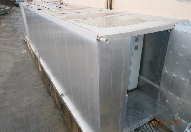 PACKAGE FISH FARMING UNIT